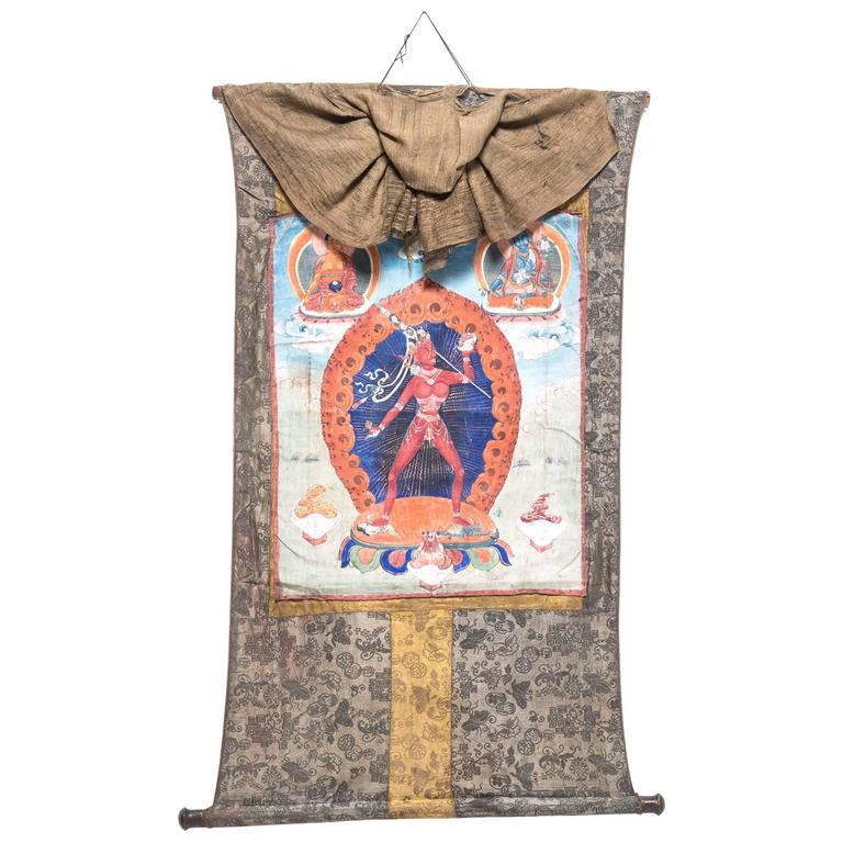 Early 20th Century Tibetan Thangka