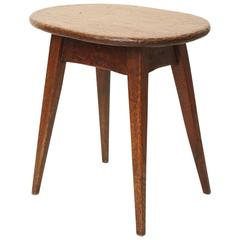 Mid-19th Century Oak Stool