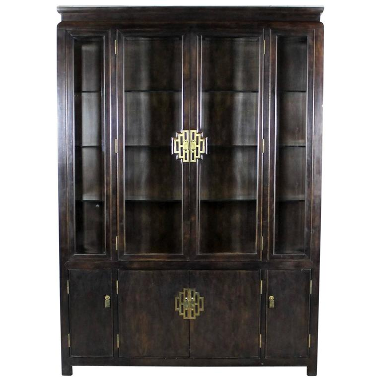 Chin Hua Collection China Display Cabinet or Book Case by Century Furniture