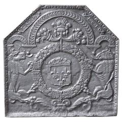 17th Century 'Arms of France' Fireback