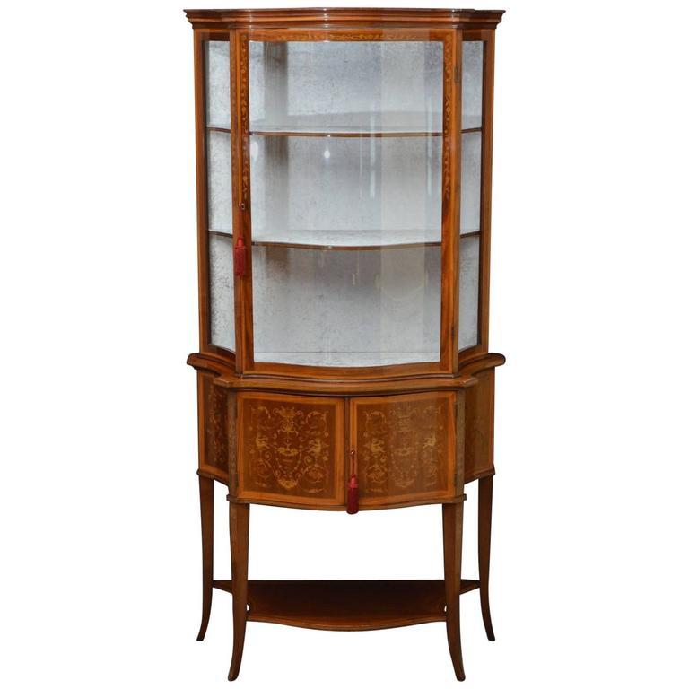 Striking Edwards & Roberts Display Cabinet