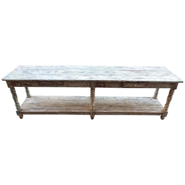Late 19th Century Console Table