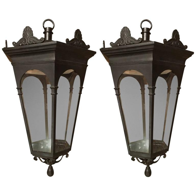 19th Century Hanging Lanterns