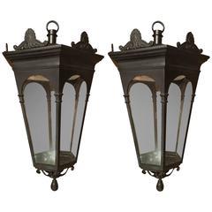 19th Century Hanging Lanterns