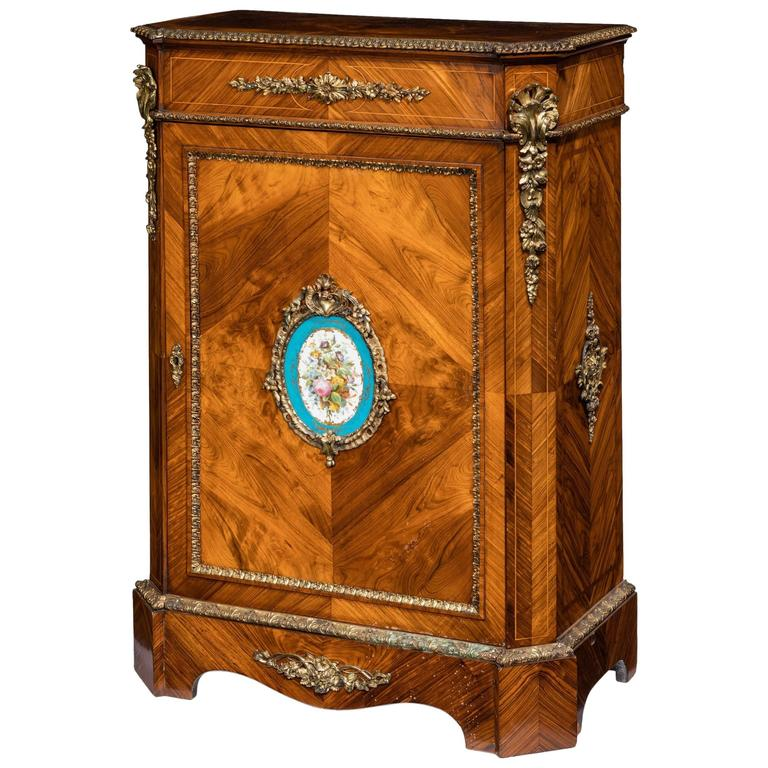 Kingwood Antique Side Cabinet For Sale - Kingwood Antique Side Cabinet For Sale At 1stdibs