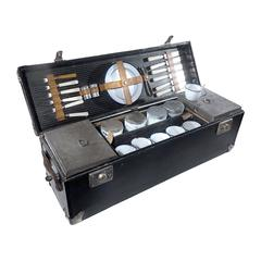 Frank and Holton Cased Picnick Set