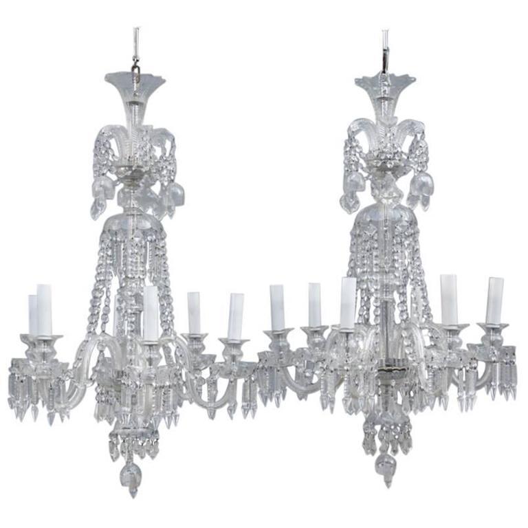 Mid century bohemia pair of chandelier crystal very elegant for sale mid century bohemia pair of chandelier crystal very elegant for sale aloadofball Choice Image