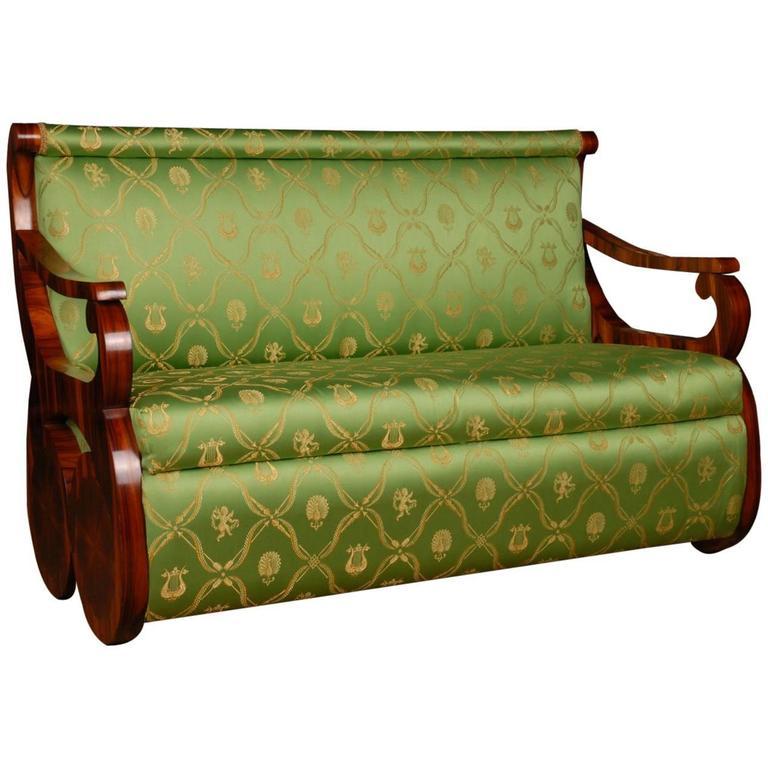 20th Century Biedermeier Style Canape Sofa