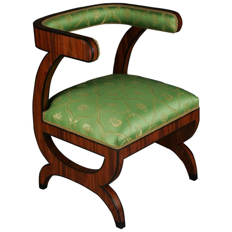 20th Century Biedermeier Style Armchair After Josef Danhauser