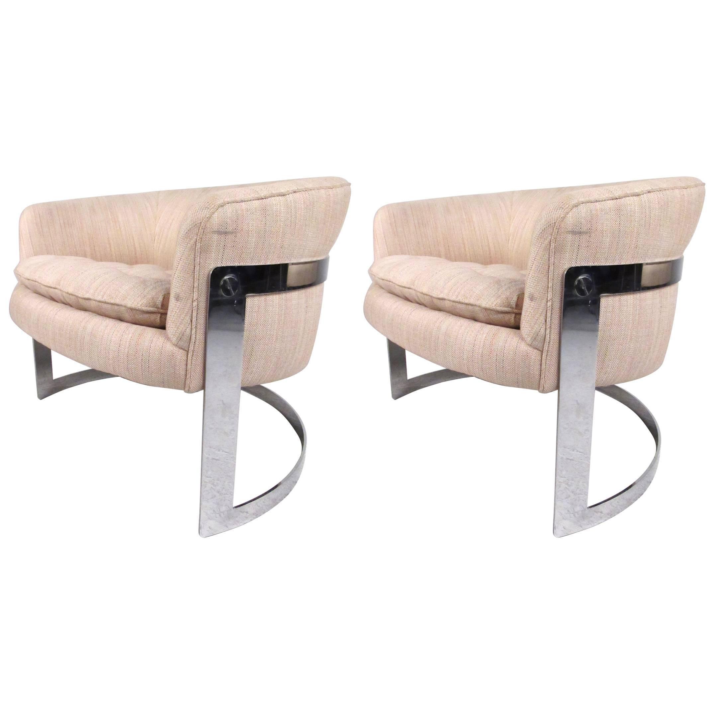 Vintage Club Chairs by Bernhardt