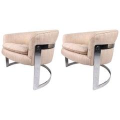 Vintage Milo Baughman Club Chairs