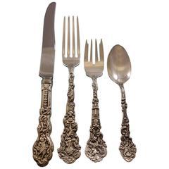 Versailles by Gorham Sterling Silver Flatware Set 12 Service Dinner Lunch Mono D
