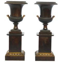 Pair of Grand Tour Urns