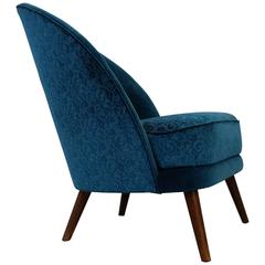 Rare Lounge Chair by Arne Norell, 1950s