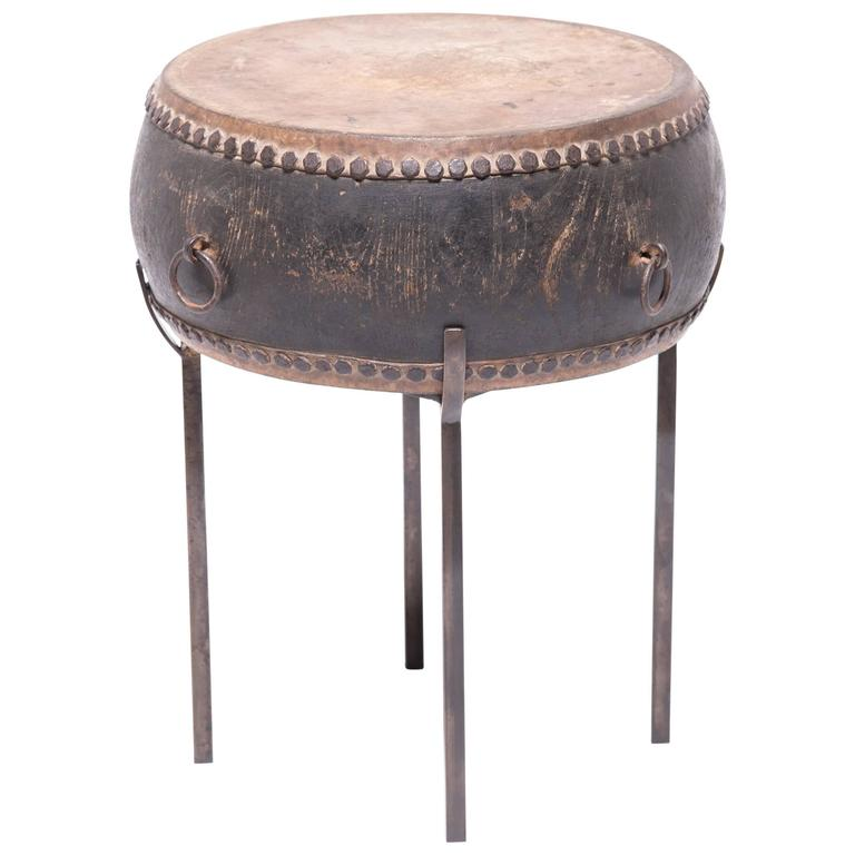Chinese Peking Drum Table For Sale