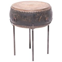 Chinese Peking Drum Table