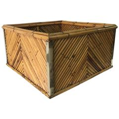 """Signed and Documented Gabriella Crespi """"Rising Sun"""" Collection Planter Box"""
