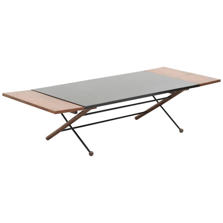 Greta Grossman Drop Leaf Coffee Table At 1stdibs
