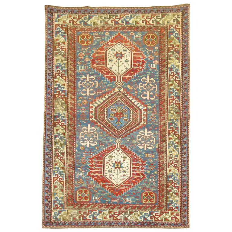 Caucasian Shirvan Rug For Sale