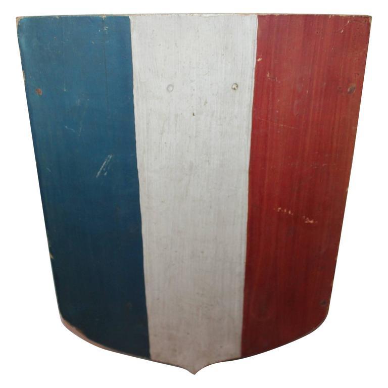 19th Century Original Painted Patriotic Sheid 1