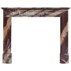 Original Louis Philippe Marble Fireplace Mantel