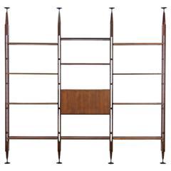 Franco Albini Bookcase Lb7 by Poggi, Italy