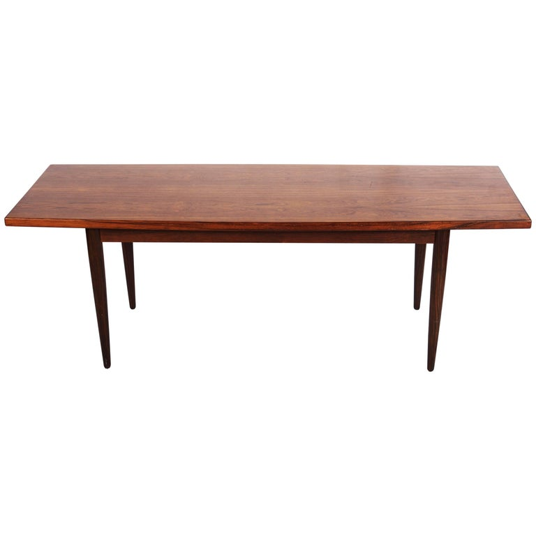 Danish Hardwood Conference Table For Sale
