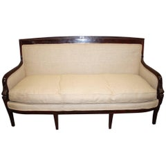 Beautiful French Restauration Period Sofa