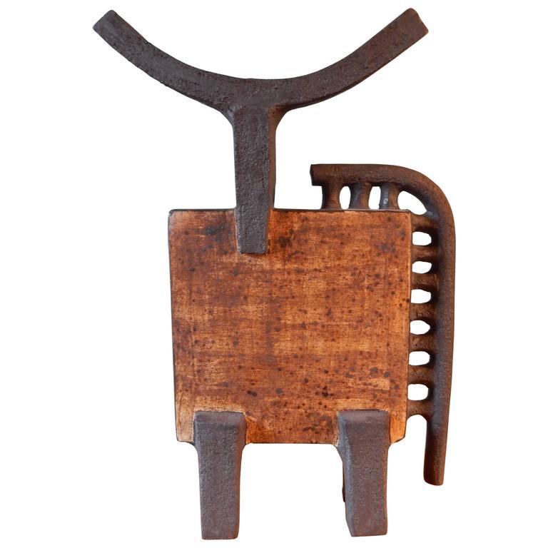 Dominique Pouchain Abstract Bull Ceramic 1