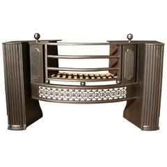 Late 18th Century Cast Iron Fire Grate