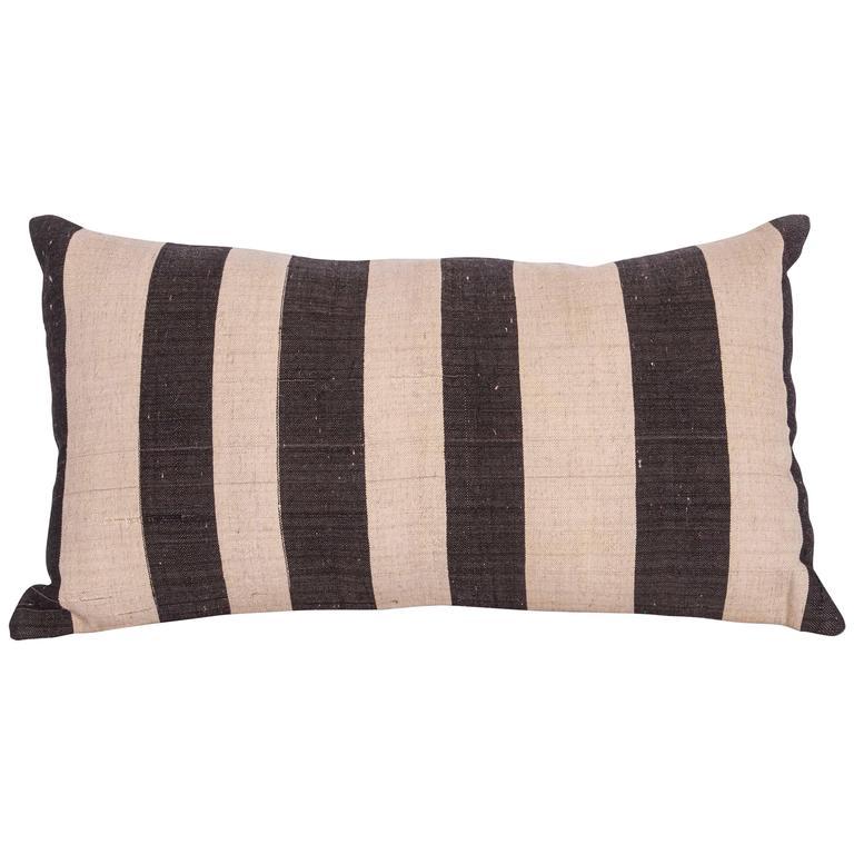 Pillow  Made Out of a Vintage Mazandaran Kilim