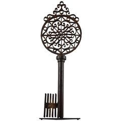 Early 19th Century Locksmith Trade Sign Key
