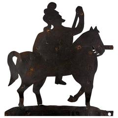 Mid-19th Century Military Outfitters Trade Sign