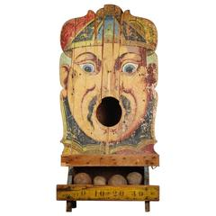 "19th Century French Ball Toss Carnival Game ""Passe Boule"""