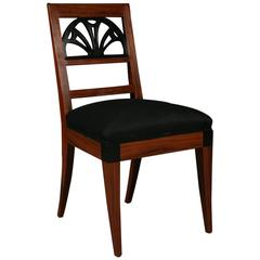 20th Century Neoclassical Style Light-Palisander Chair