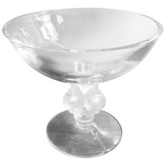Sevres Crystal Bowl, Signed, Fran