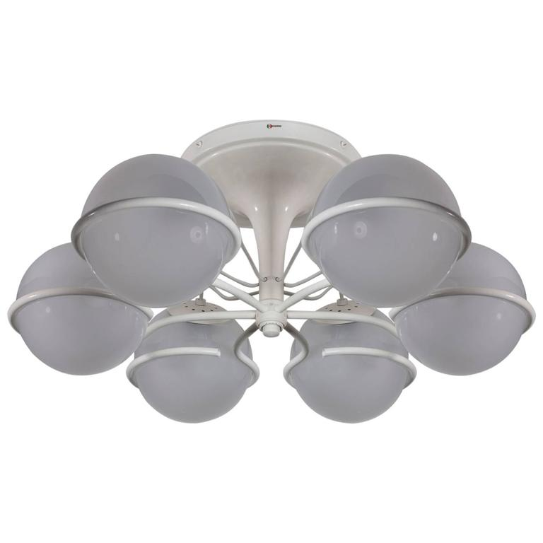 Lighting Fixture Model 2042/6 by Gino Sarfatti for Arteluce For Sale