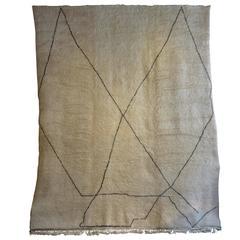 Oversized Soft Beni Ouarain Carpet