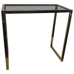 1960s Italian Brass Console or Table