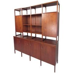 Rare Paul McCobb Delineator Wall Unit