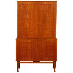 1940s french dental cabinet girator rotating medical furniture at 1stdibs - Hideable furniture ...