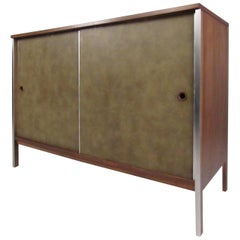 Sliding Door Cabinet by Paul McCobb