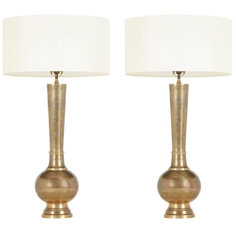 Bedside Table Lamp Pairs