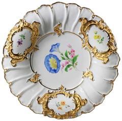 19th Century Meissen Porcelain Charger