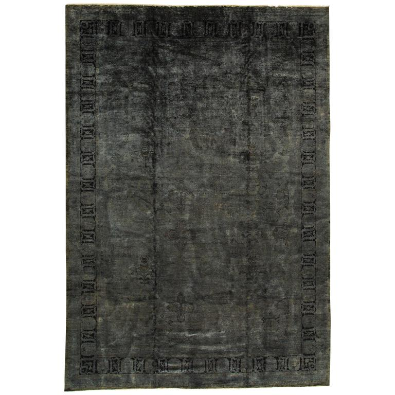 Simply Gorgeous Modern Overdyed Indian Rug 11 10 Quot X17 3