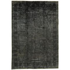 """Simply Gorgeous Modern Overdyed Indian Rug 11'10""""x17'3"""""""