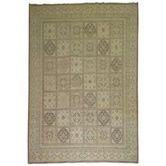 Vintage Inspired Khotan Rug