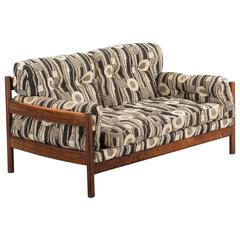 Swedish Rosewood Sofa from the 1960s