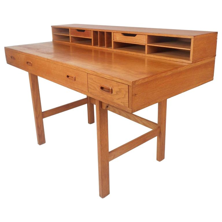flip top desk. Mid-Century Modern Teak Flip-Top Desk By Jens Quistgaard For Sale Flip Top P