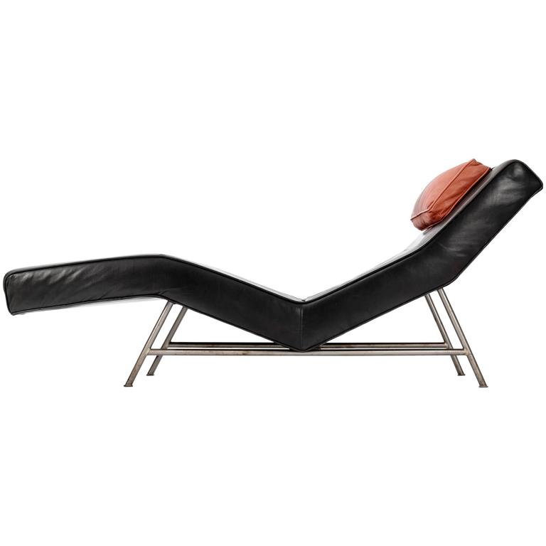 "Milo Baughman ""Fred"" Chaise For Sale"